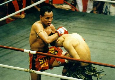 Orono Por Muang Ubon, a Muay Thai legend and one of John Wayne Parr's rivals