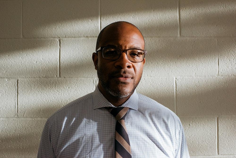 Nicholas Petty, principal at Ginn Academey. Dustin Franz for Education Week