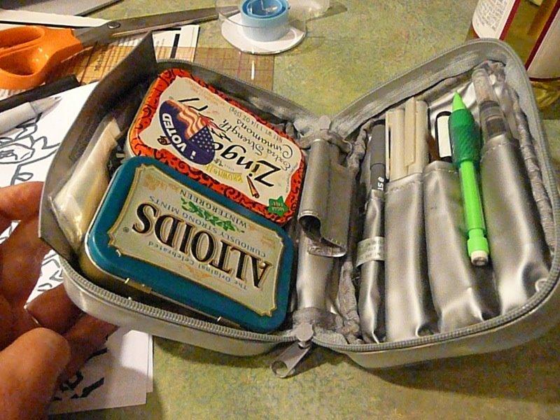 I found this kit online here  Creativity Journey