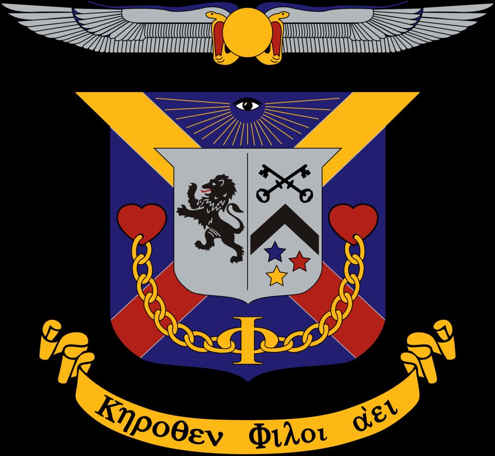 The Delta Kappa Epsilon Coat of Arms