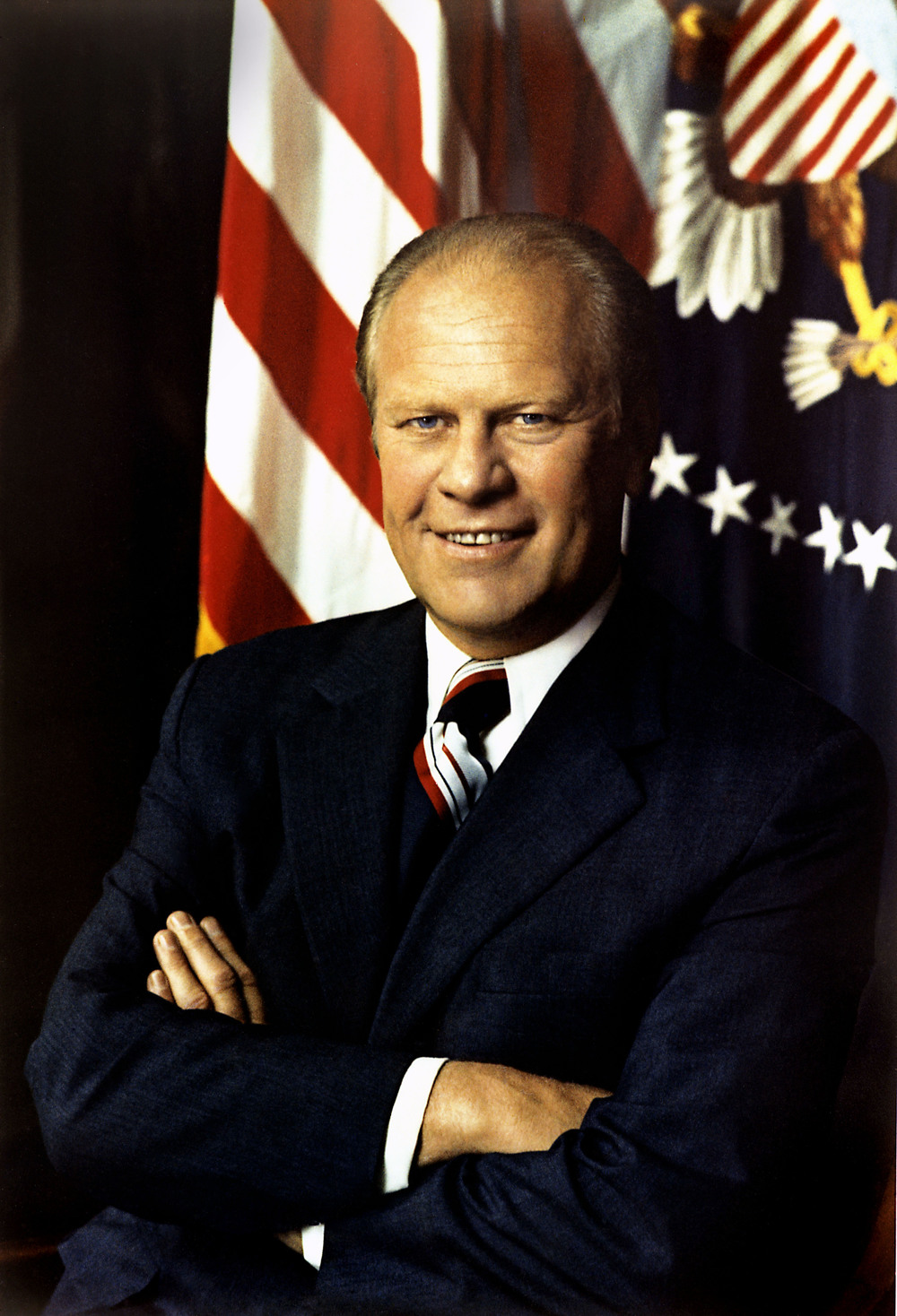 37th US President Brother Gerald Ford  (Omicron-Michigan '35)