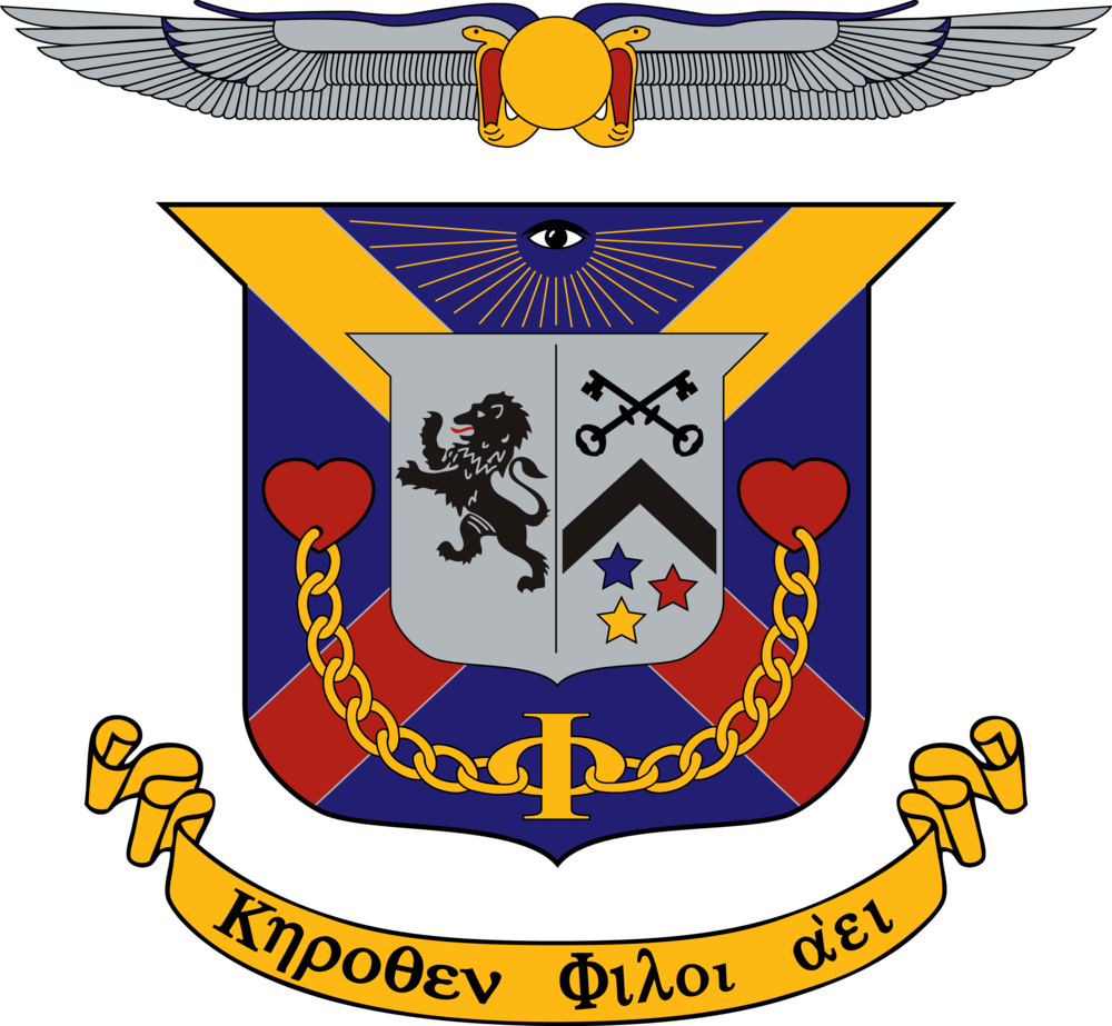 The DKE Coat of Arms