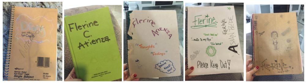 my journals!