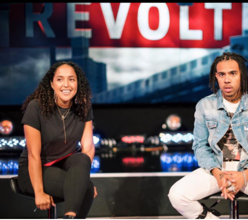 Danielle Cheesman - is a Senior Editor,  @RevoltTV follow her  @daniellesaid