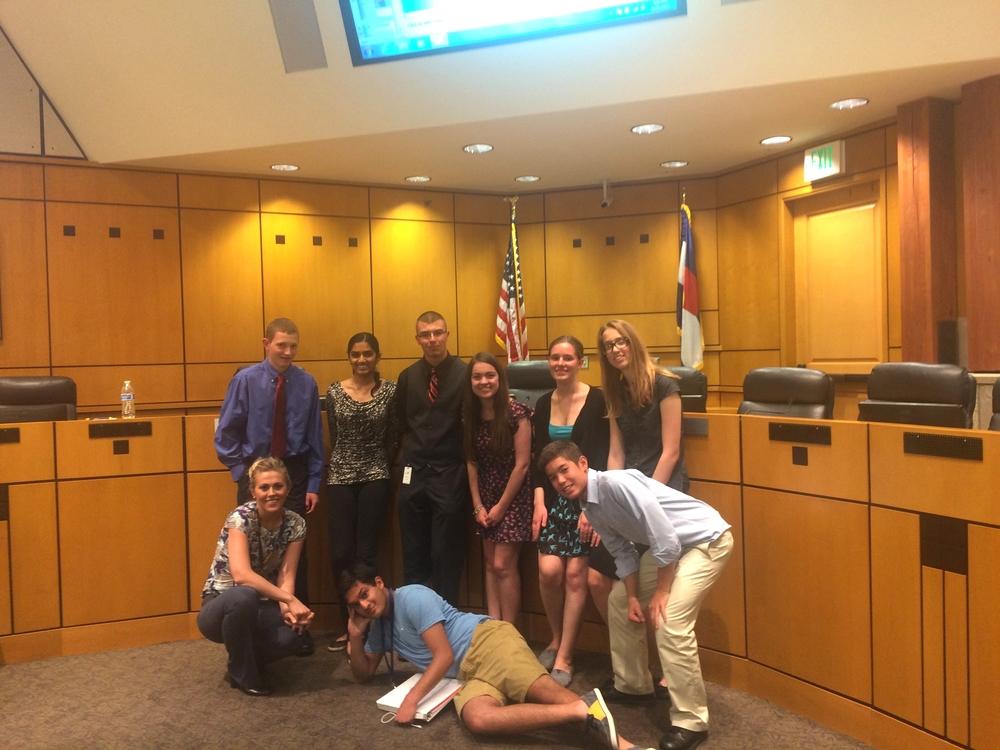 Of teen court program in