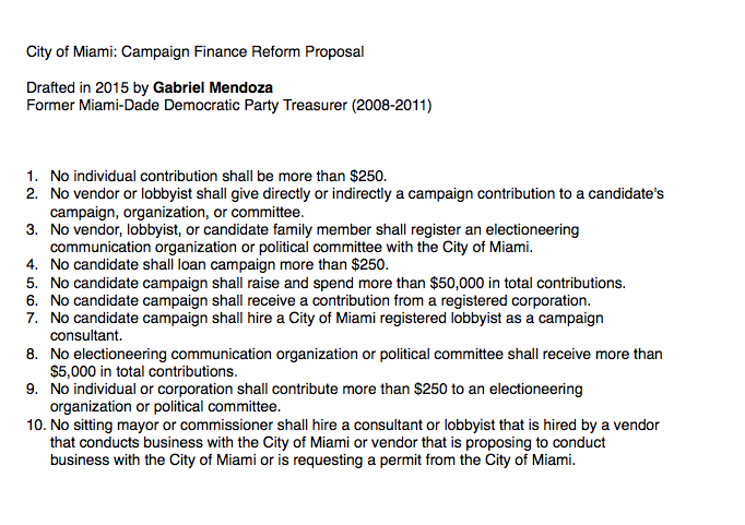 *I drafted this proposal as a City of Miami constituent in 2015 and shared it via a   YOUNGARMY   project  @NotifyMiami  on Twitter.