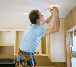 Recess Lighting Installation