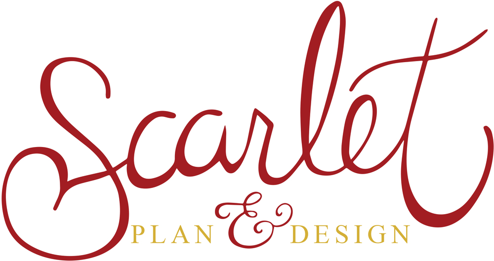 scarlet plan & design, charleston wedding planner