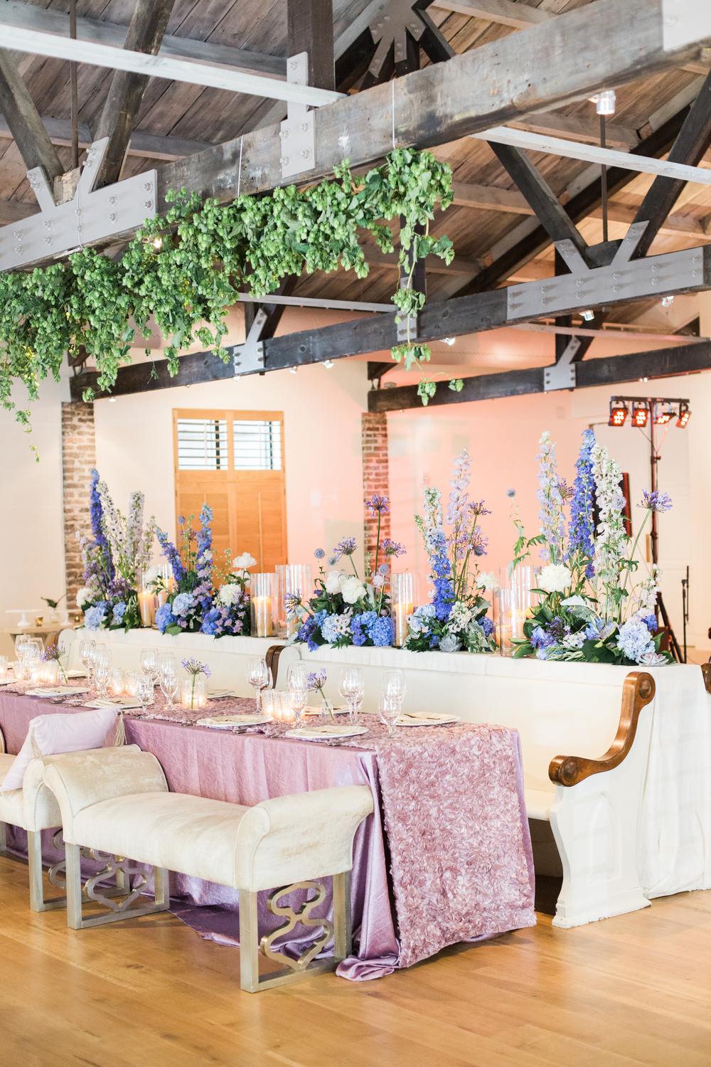 lilac, lavender & periwinkle luxury wedding at cannon green charleston by scarlet plan & design for revolution wedding tours (180).jpg