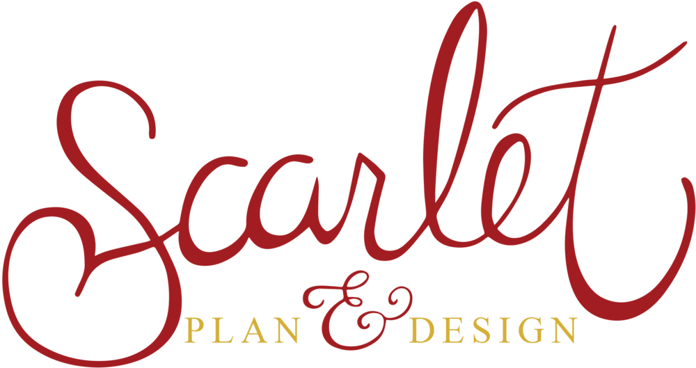 scarlet plan & design, charleston wedding planners
