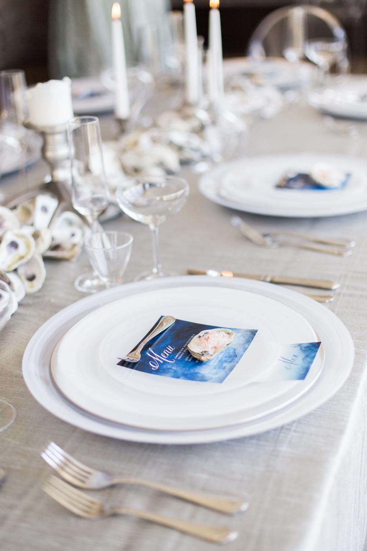 charleston wedding planner scarlet plan & design | nautical coastal wedding placecards at historic rice mill