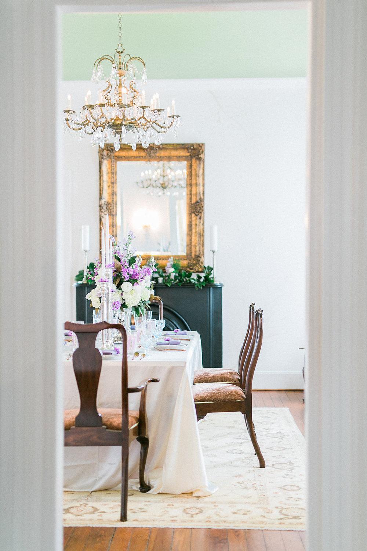 charleston wedding planner scarlet plan & design | spring brunch wedding placecards at parsonage | revolution wedding tours