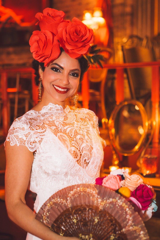 dia de los muertos themed wedding atlanta, scarlet plan & design