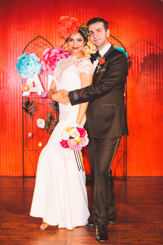 Revolution Wedding Tours Dia De Los Muertos Themed Wedding Atlanta Paris on Ponce (26).jpg