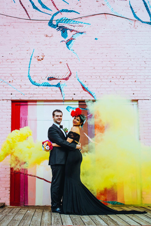 Revolution Wedding Tours Dia De Los Muertos Themed Wedding Atlanta Paris on Ponce (59).jpg