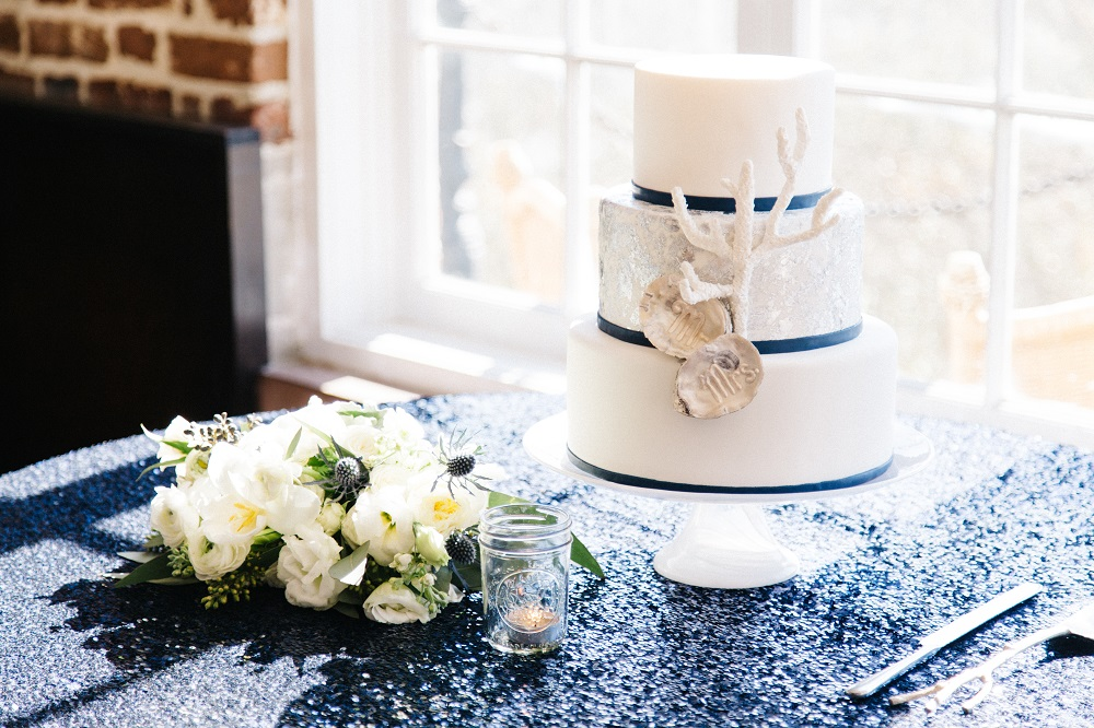 navy and gold coastal themed charleston wedding at historic rice mill (1).jpg