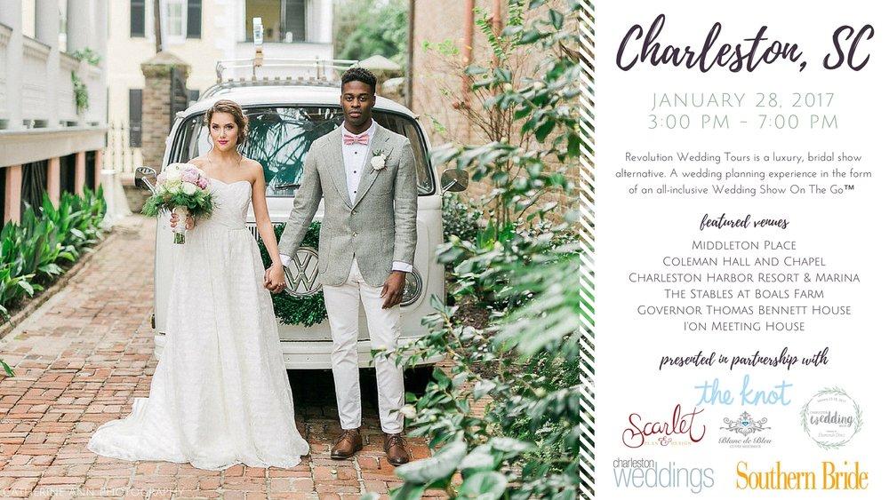 Charleston Mega Revolution Wedding Tour