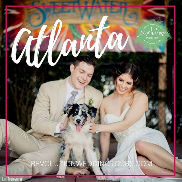 Get ready, #Atlanta! #RevWeds is headed your way on July 27! Our all-inclusive wedding tour is the most fun & easiest way to plan your #atlantawedding! Tag an #atlantabride or #groom you'd like to attend with!!