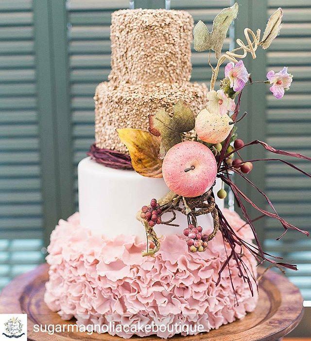 #RevWeds @Regrann from @sugarmagnoliacakeboutique -  Flashback to this beautiful ruffle and sequin cake made for the Savannah Revolution Wedding Tour!  Photo: @clickchickcharleston  Event:@revolutionweddingtours  Venue: @themackeyhouse  #sequincake #rufflecake #revolutionweddingtours #lowcountrybride #lowcountrywedding #lowcountryweddings #scbride #scwedding #charlestoncakes #charlestonbride #charlestonwedding #upstatescwedding #upstatescbride #upstatebakery #yeahthatgreenville #greenvillebakery #clemsonbakery #andersonbakery #southernbride #southernbrides #southernwedding #southernweddings - #regrann