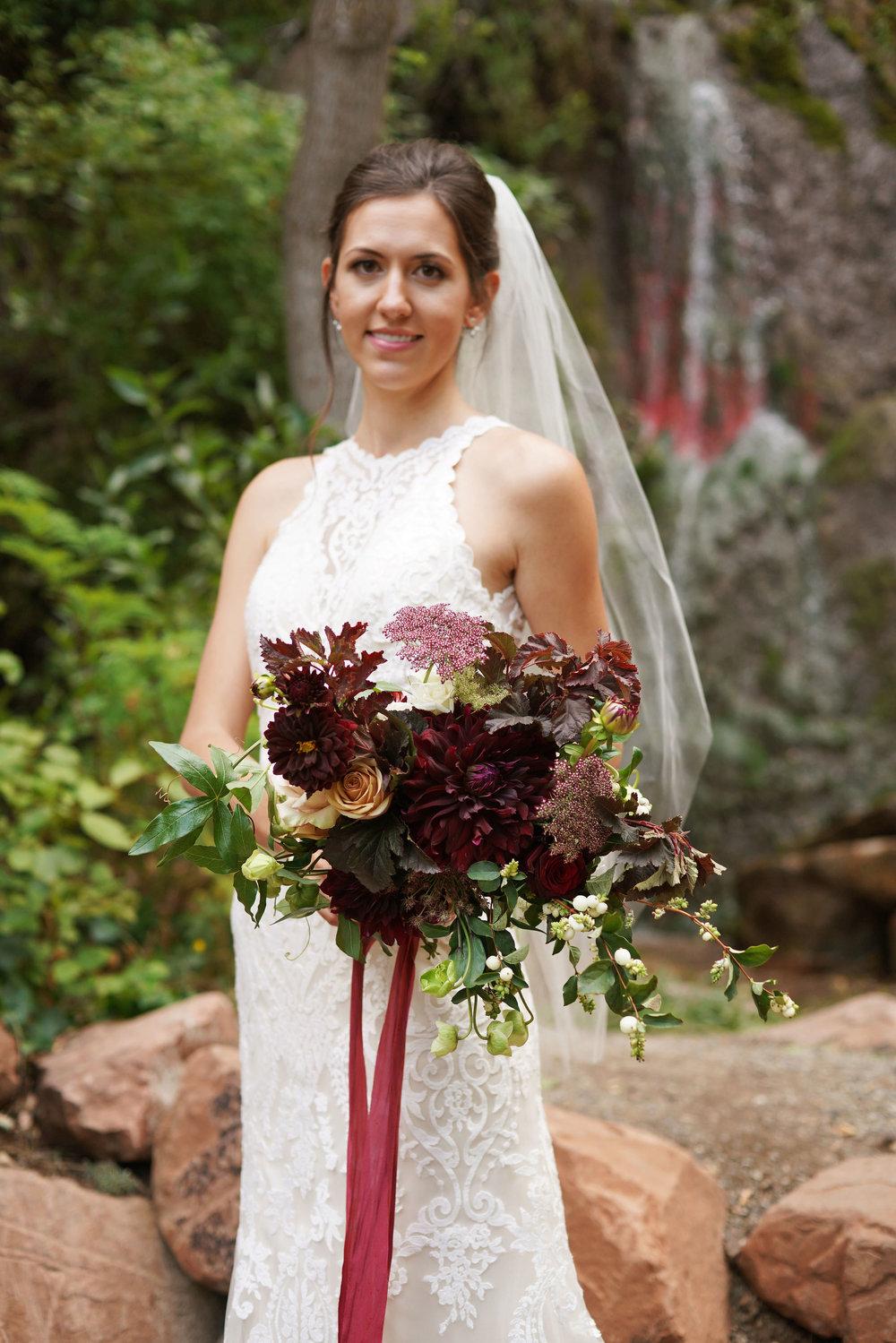 A WEDDING AT LOULAND FALLS.  SEE MORE →