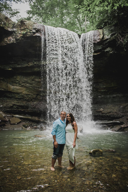 Ohio Pyle Engagement Photos