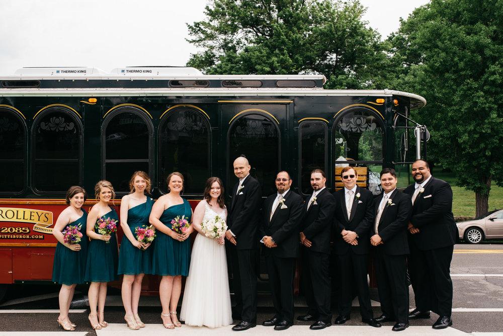 Phipps Conservatory Wedding