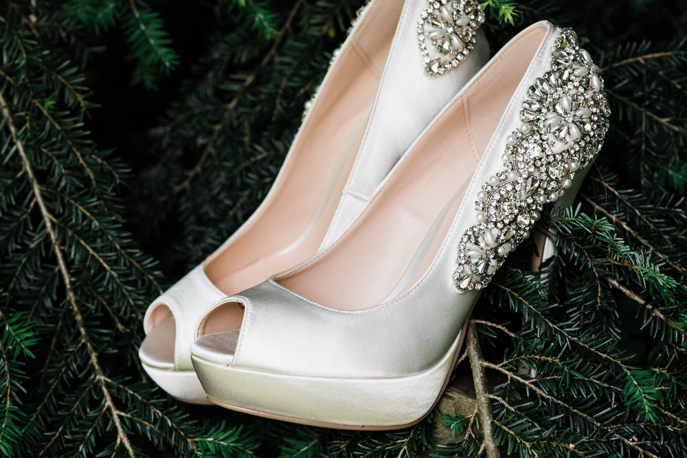 brides glamours shoes