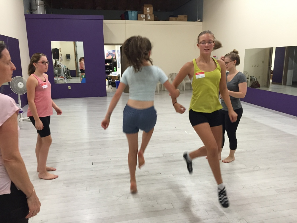 We learned the Fairy Reel and had a blast skipping around the studio together!!