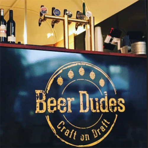 BEER DUDES : SAMPLE THE GOODS