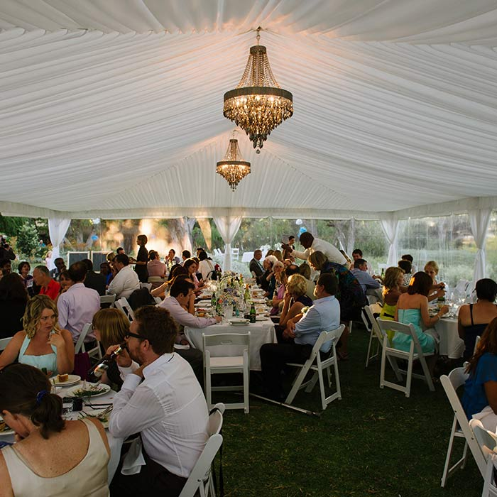 CAPE MARQUEES EVENT HIRE + LIGHTING
