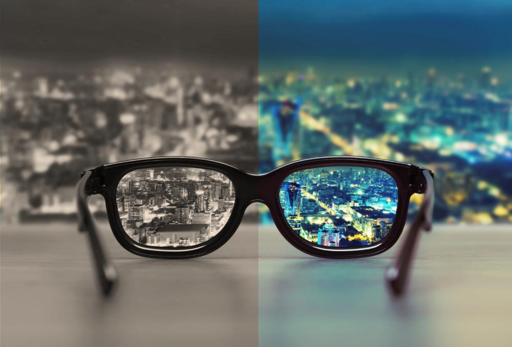 glasses left