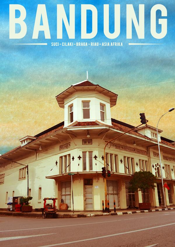 Ridhuan Novizar,  Retro Bandung Poster