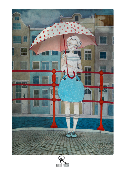 Rebekka Ivacson,  Amsterdam Umbrella