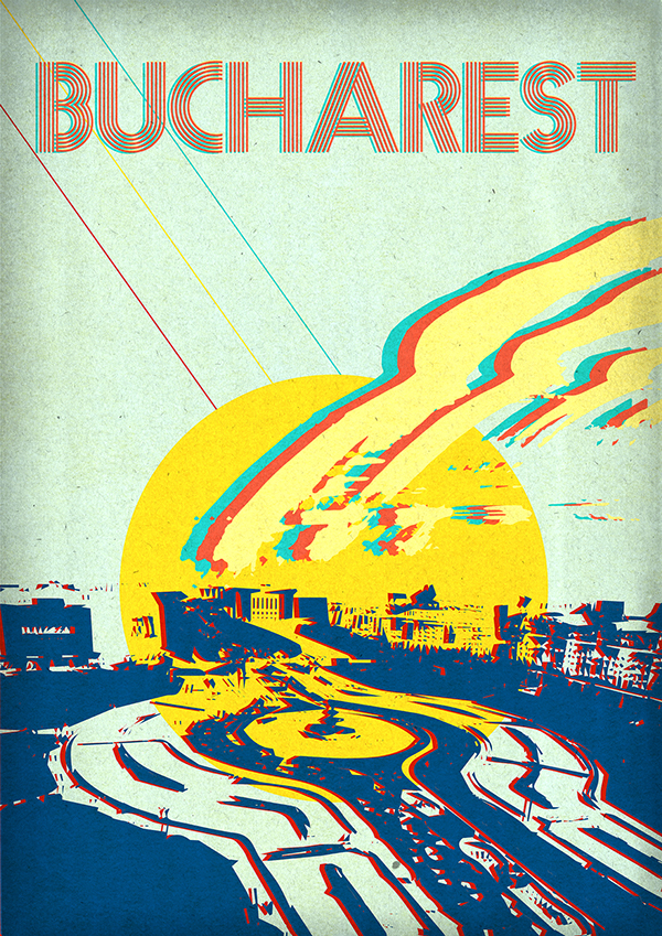 Tina Escu,  Retro Travel Posters