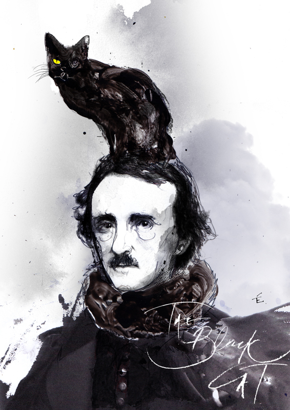 Zé Otavio,  Edgar Allen Poe, The Black Cat