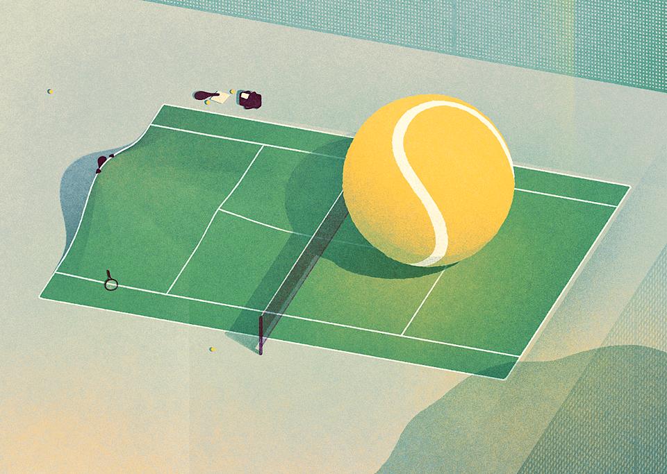 Karolis Strautniekas,  Tennis