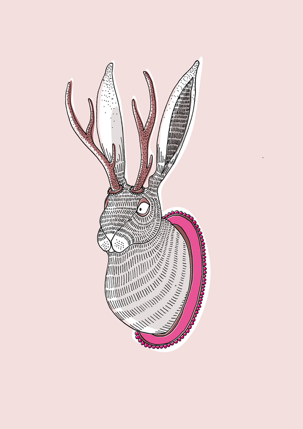 Andrea Forgacs,  Deer Rabbit