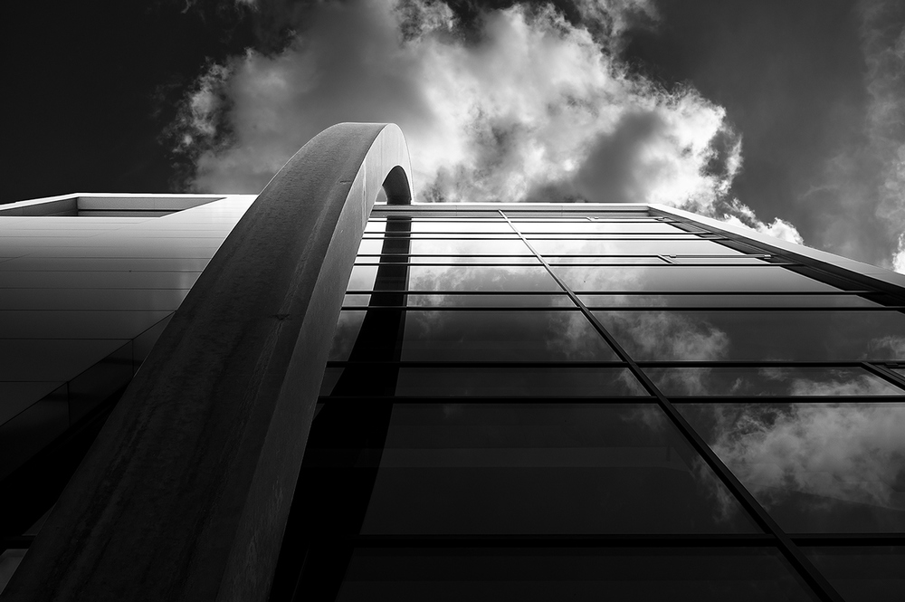 Christian Weltle,  Architecture Black & White with Fujifilm X100