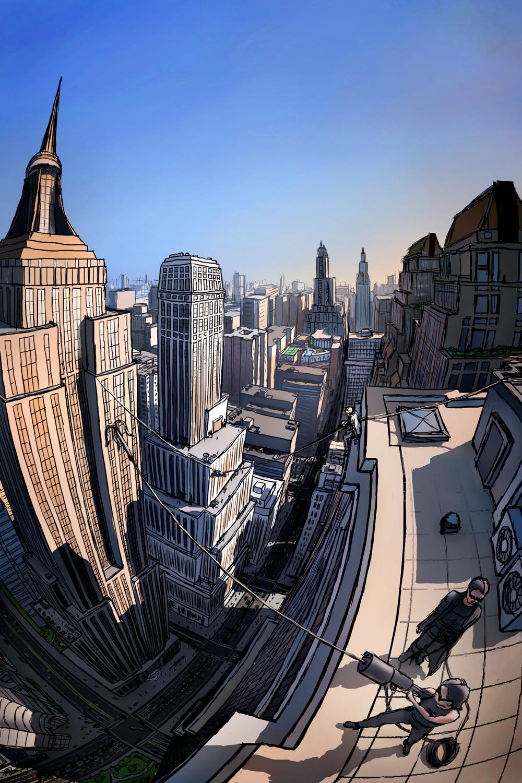 Matej Jan,  Rooftops