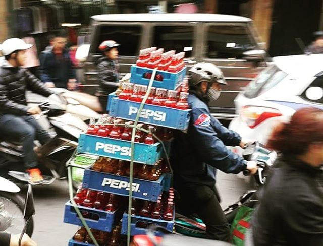 Just another day delivering Pepsi lol.  #wanderlust #ilovetravel #writetotravel #instatravelling #instavacation #travelblogger #instapassport #worldtraveler #traveldeeper  #travelstroke #travelling #trip #traveltheworld #igtravel #getaway #travelblog #instago #travelpics #flowers #wanderer #wanderlust #travelphoto #travelingram #mytravelgram #colors #travels #travelphotography  #tagsta_travel#beauty #amazing