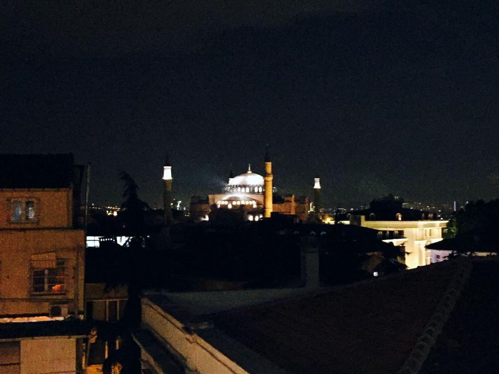 Hagia Sophia from Nowy Efendi Hotel
