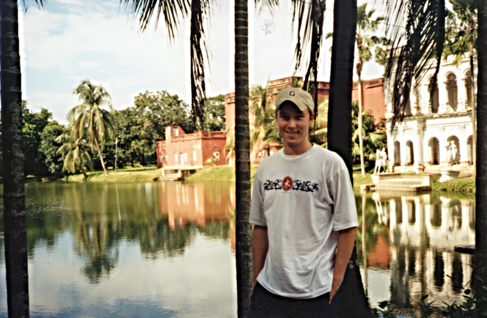 Albert in Sonargon, Bangladesh 2002