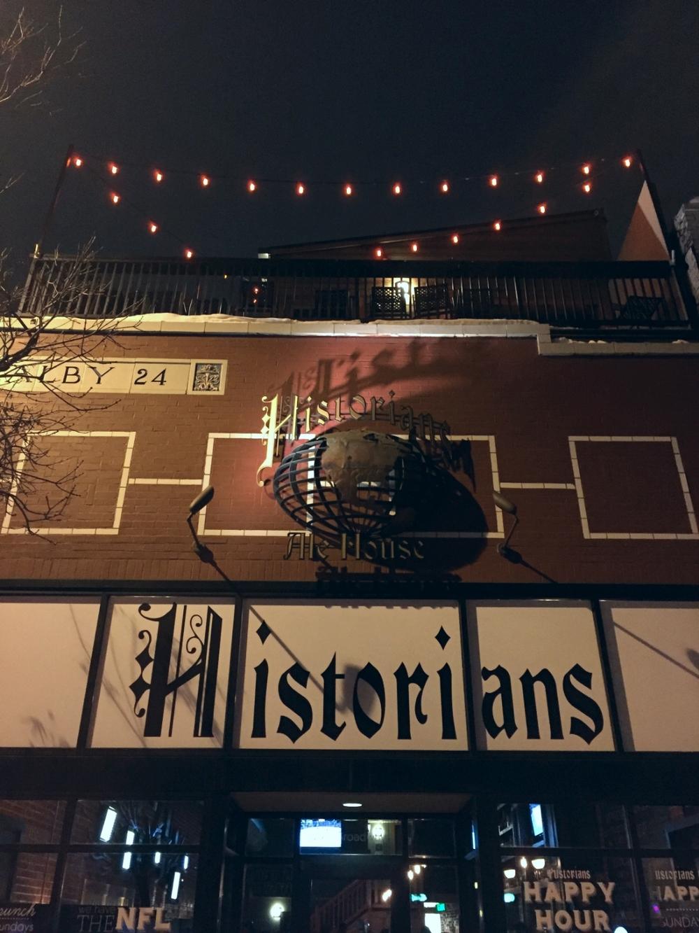 Historian Ale House, Denver, Colorado