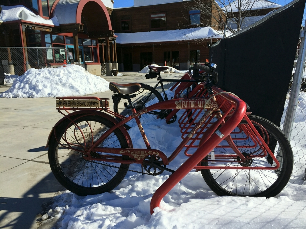 Outside New Belgium Brewing Company, Fort Collins