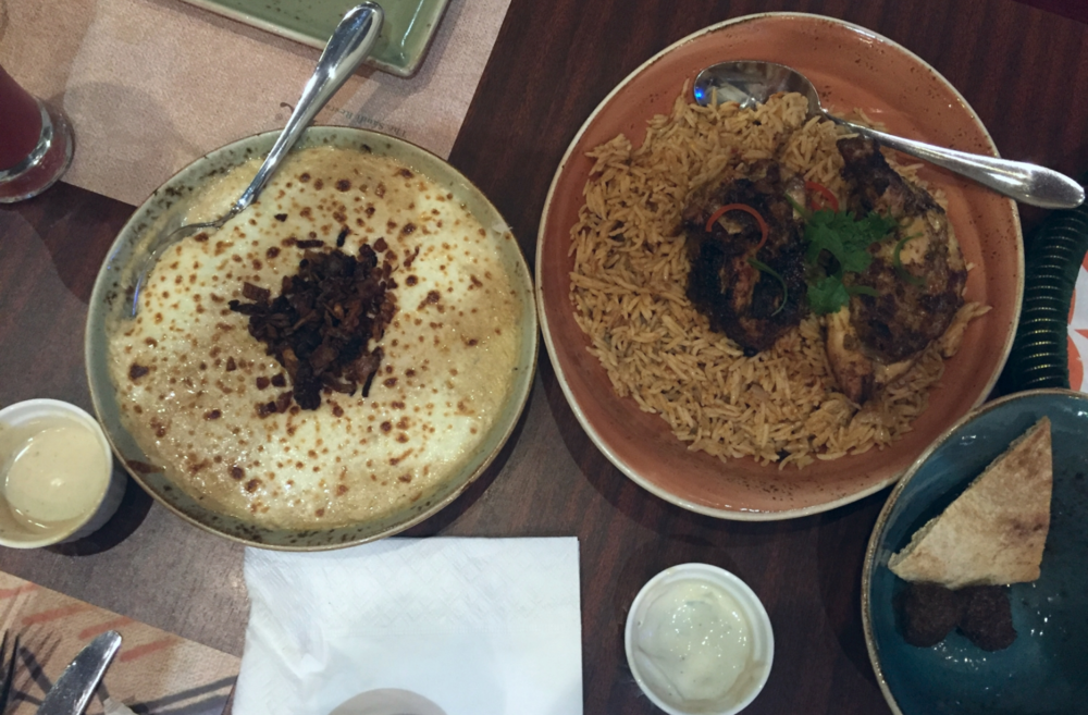 Jareesh and Chicken Kebsa at Aseil