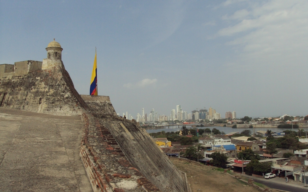 View of Cartagena from Castillo San Felipe de Barajas