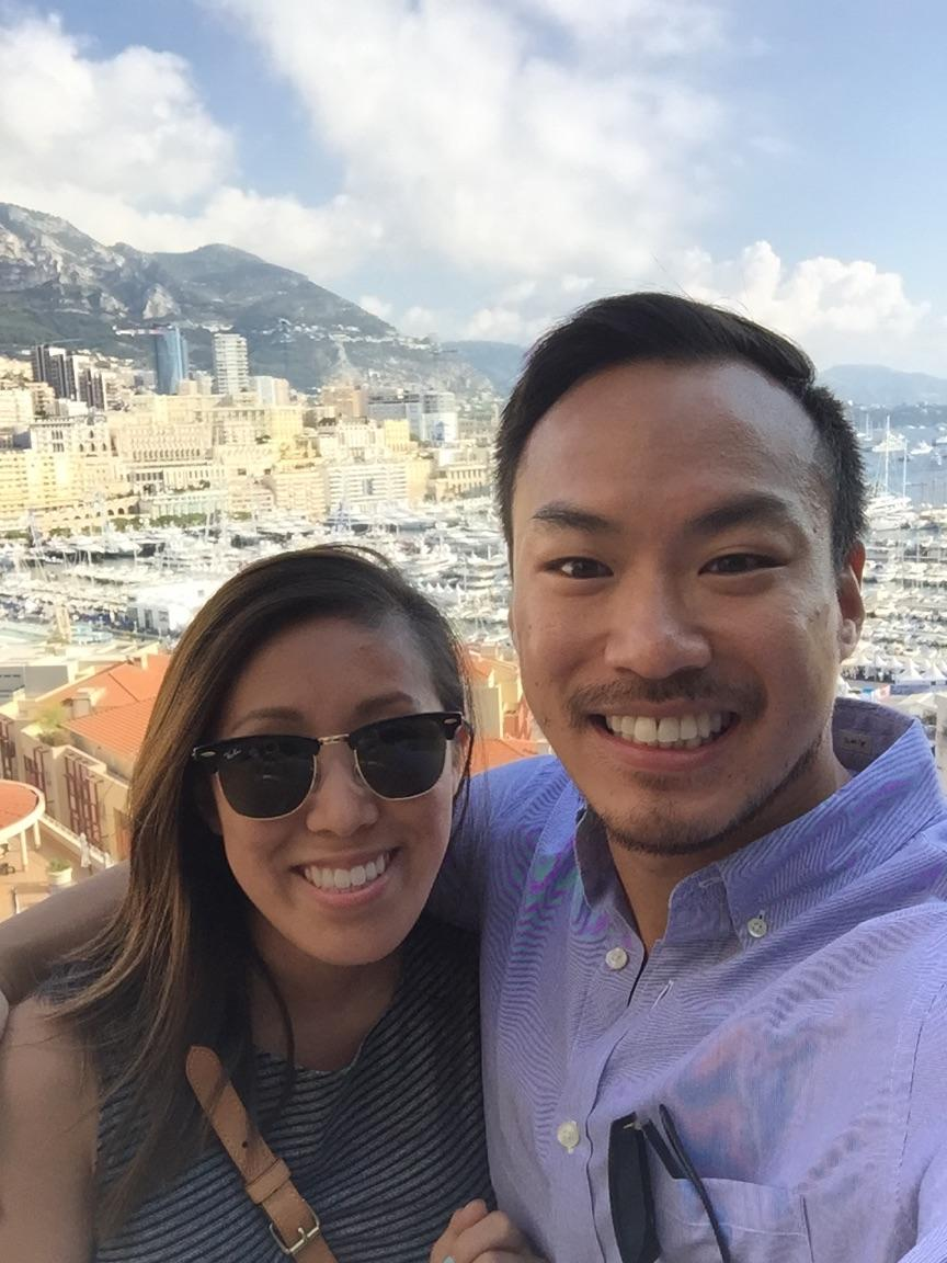 Tommy and Christina in Monaco