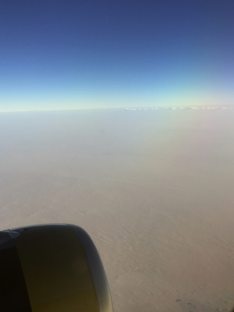 The vast desert of Saudi Arabia