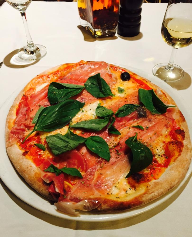 Pizza at Restaurant Il Forno a Legna