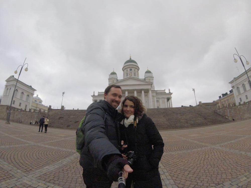 We made it to Helsinki!
